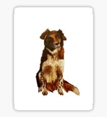 Milly the collie Sticker
