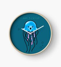 The funny jellyfish Clock
