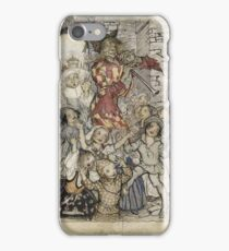 Arthur Rackham - The Pied Piper And The Children iPhone Case/Skin