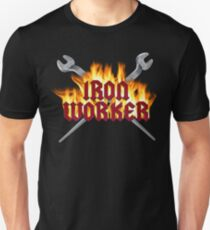 Iron Worker Flaming Spud Wrenches Unisex T-Shirt