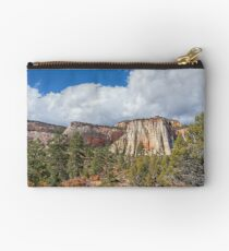 Colorful Bluffs Studio Pouch