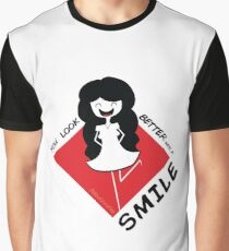 Better with a smile Graphic T-Shirt