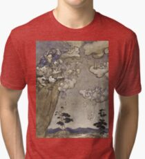 Arthur Rackham - An Illustration To Rip Van Winkle  They Were Ruled By An Old Squaw Spirit... Tri-blend T-Shirt