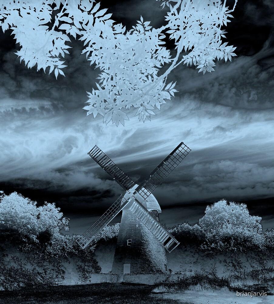 Bradwell Windmill. by brianjarvis