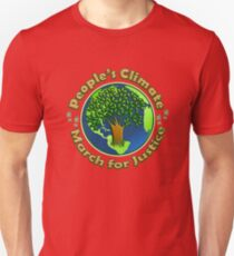 People's Climate Change March on Washington Justice 2017 Unisex T-Shirt