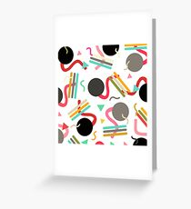 Cicles carnival Greeting Card