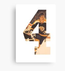 #4 - Bobby Orr Canvas Print