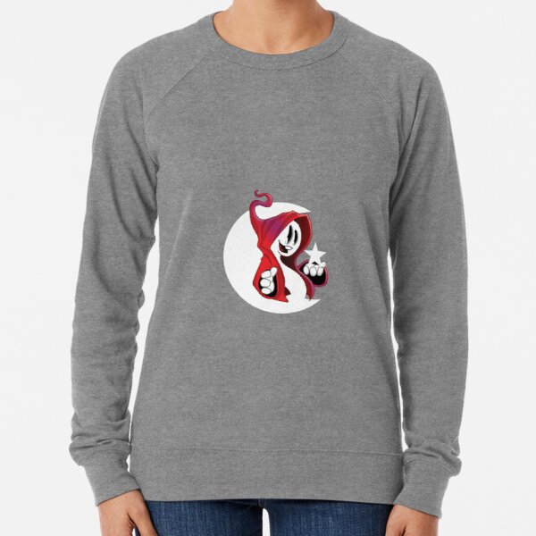 Red ghost 2 Lightweight Sweatshirt