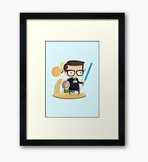 Geek Framed Print