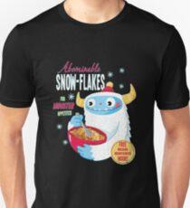 Abscheuliche Schneeflocken Slim Fit T-Shirt
