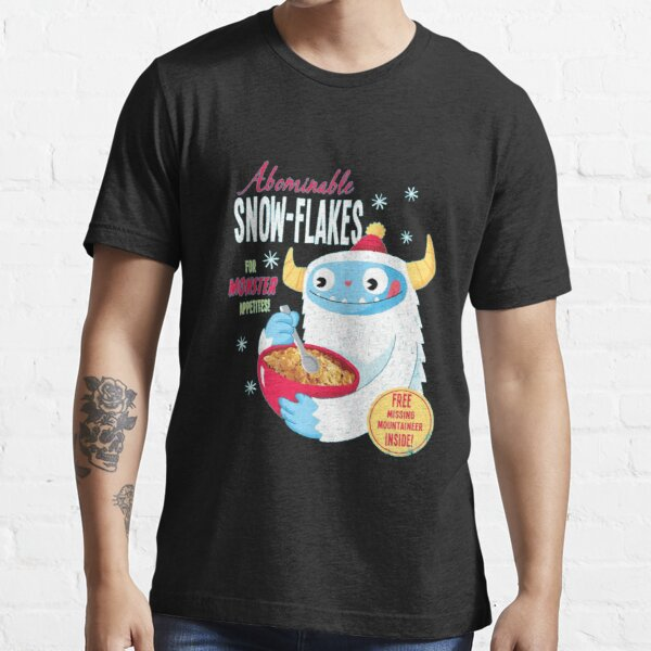 Abominable Snow-Flakes  Essential T-Shirt