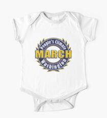 People's Climate Change March on Washington Justice 2017 One Piece - Short Sleeve