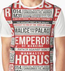 Malice Above The Palace Graphic T-Shirt