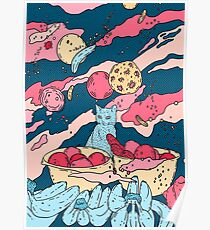 Hello spacekitty Poster