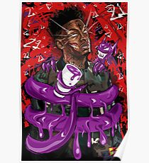 21 Savage Leaned Out Poster