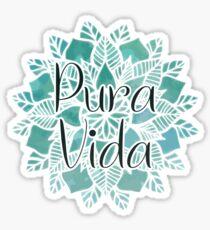 Pura Vida Mandala Sticker