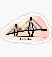 Ravenel Bridge Charleston Sticker