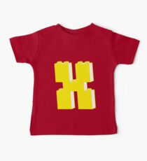 THE LETTER X by Customize My Minifig Baby Tee