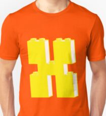 THE LETTER X by Customize My Minifig T-Shirt