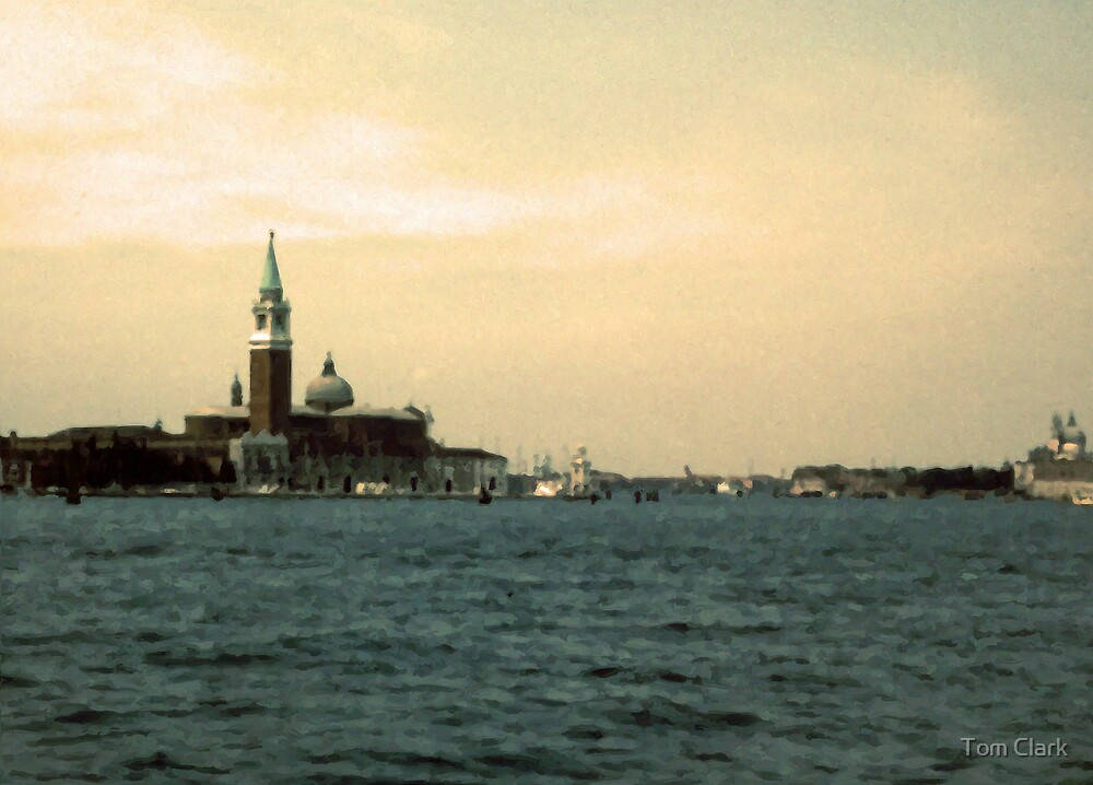 Approach to Venice by Tom Clark
