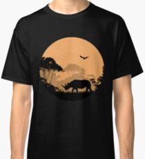 Rhino -  Africa Safari Classic T-Shirt