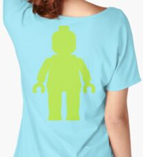 Minifig [Large Lime Green]  Women's Relaxed Fit T-Shirt