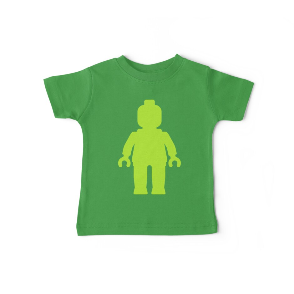 Minifig [Large Lime Green]  by ChilleeW