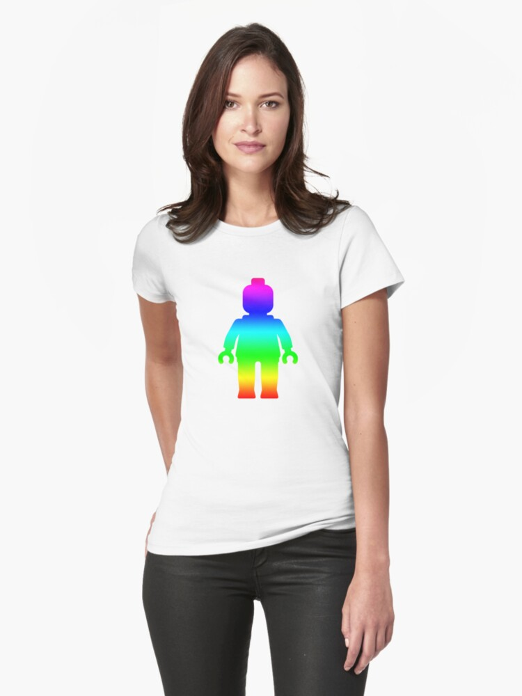 Minifig [Rainbow 1]  by Customize My Minifig