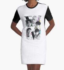 SHINee - Tour Poster Graphic T-Shirt Dress