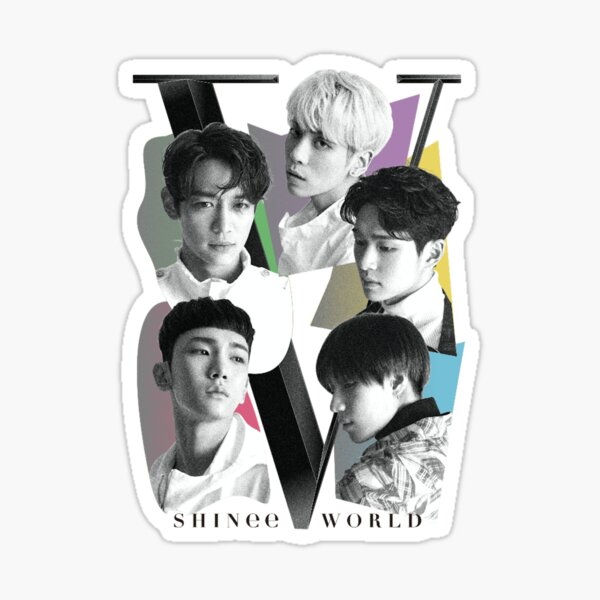 SHINee - Tour Poster Sticker