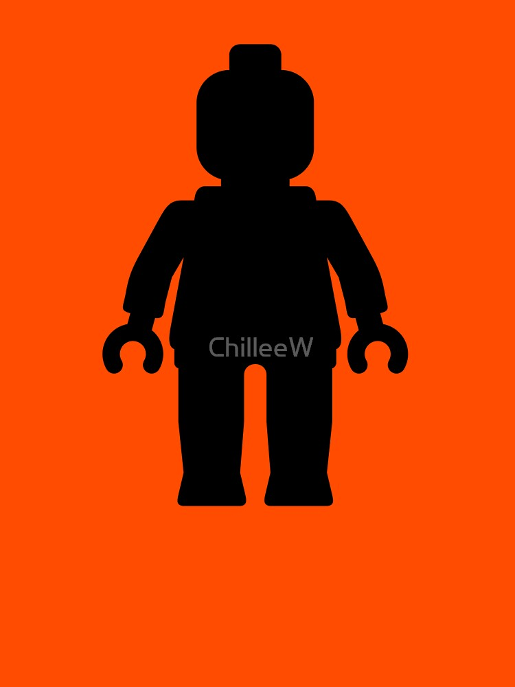 Minifig [Black]  by ChilleeW