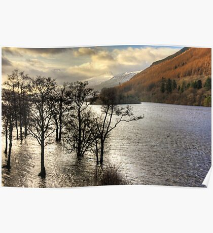Loch Tay Winter Poster