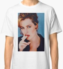 Gillian Anderson Smoking Classic T-Shirt