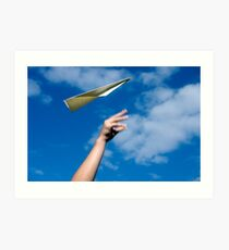 Dream to fly Art Print