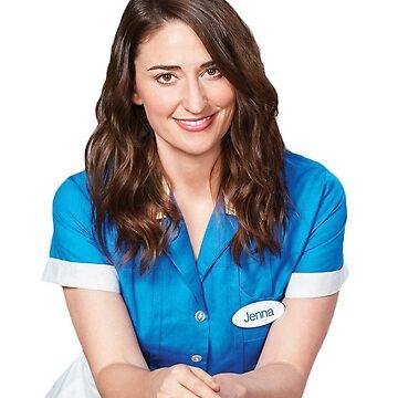 Sara Bareilles en la camarera de nonstopbroadway