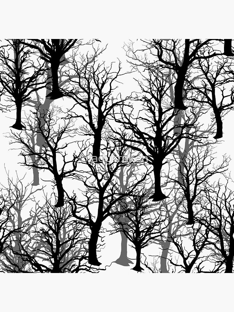 Black Trees - Twin Peaks Inspired by ladykraken