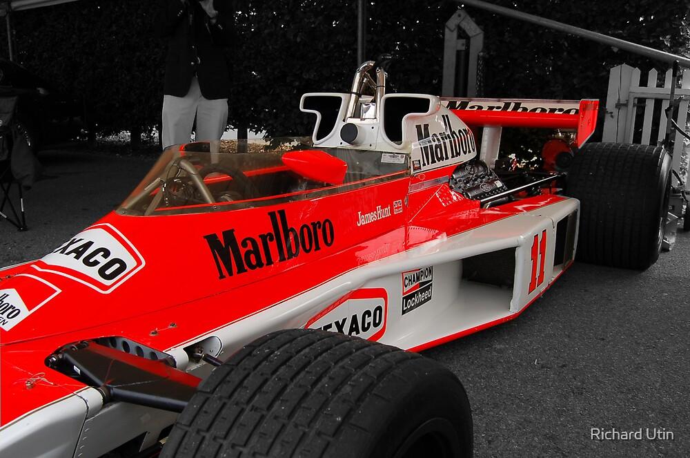 James Hunts F1  by Richard Utin