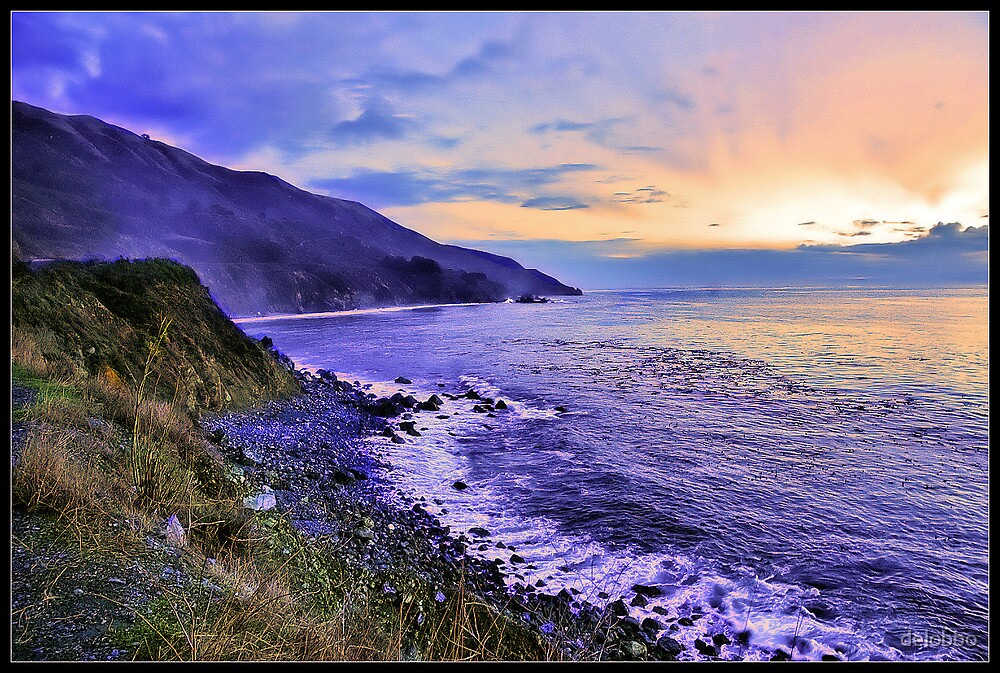 Pacific Coast Highway by delobbo