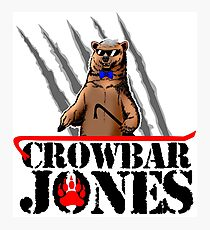 Crowbar Jones Photographic Print