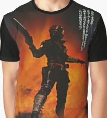Mad Max Japanese Poster #2  Graphic T-Shirt