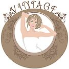 Vintage Girl by BOOJOO