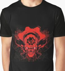 'Gears of war 4' logo on a black background Graphic T-Shirt