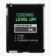 Coding LEVEL UP! iPad Case/Skin