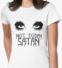 Not Today Satan - Bianca Del Rio Women's Fitted T-Shirt