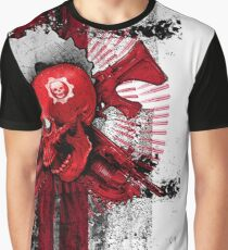 'Gears of war 4' skull on a white background Graphic T-Shirt