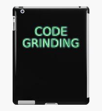 Code Grinding iPad Case/Skin