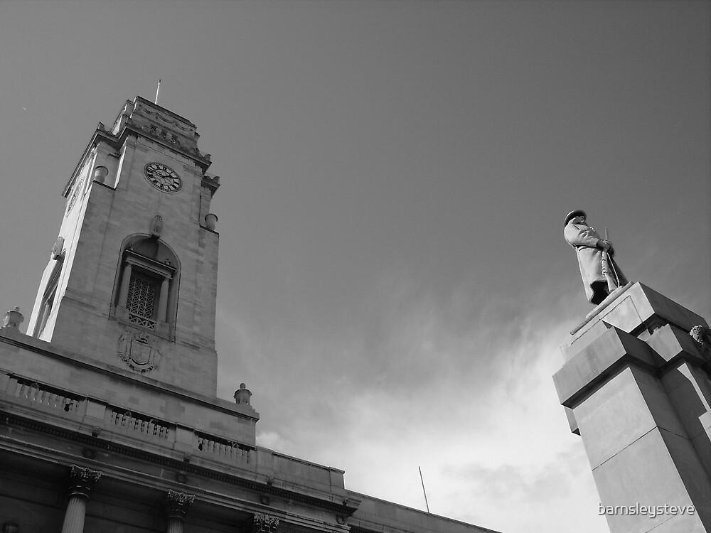Barnsley Town Hall by barnsleysteve