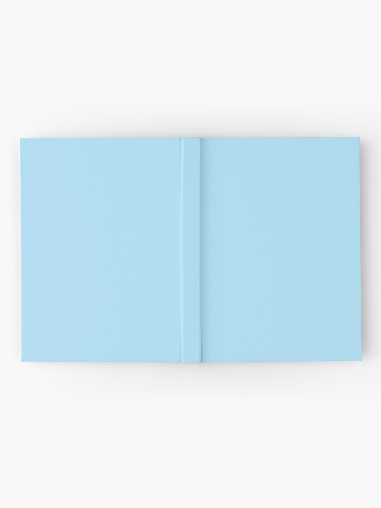 Alternate view of Pastel Blue / Diamond Solid Color Hardcover Journal