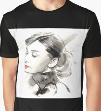 Audrey Hepburn Graphic T-Shirt