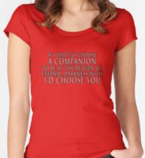 I'd Choose You Women's Fitted Scoop T-Shirt